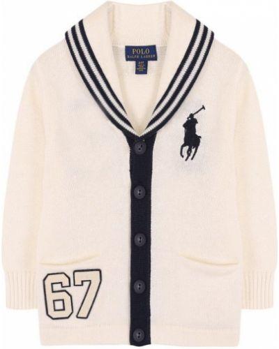 Кардиган с вышивкой с карманами Polo Ralph Lauren