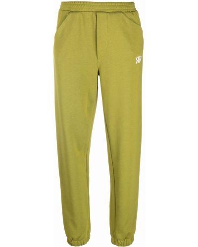 Спортивные брюки из полиэстера - зеленые Roseanna