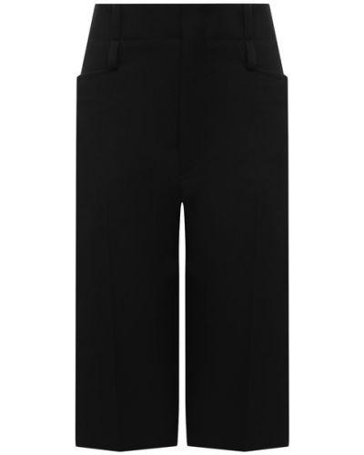 Шерстяные шорты - черные Chloé