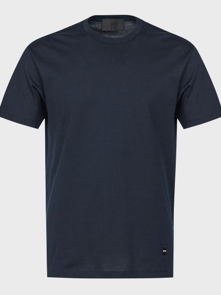 Хлопковая футболка - черная Corneliani
