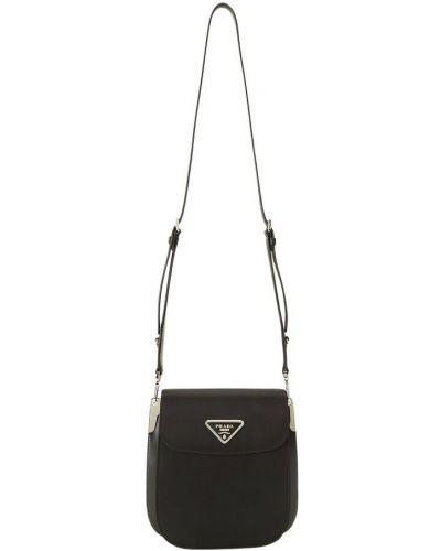 Czarna torba na ramię Prada