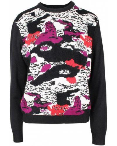 Sweter - czarny Carven