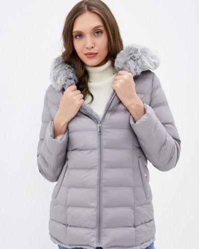 Серая утепленная куртка Softy