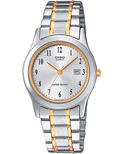 Водонепроницаемые часы кварцевые серые Casio