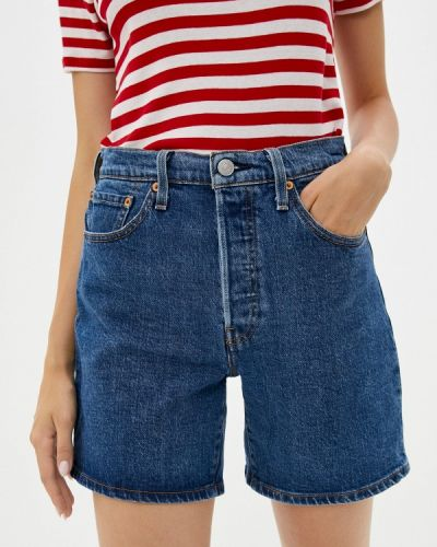 Синие зимние джинсовые шорты Levi's®