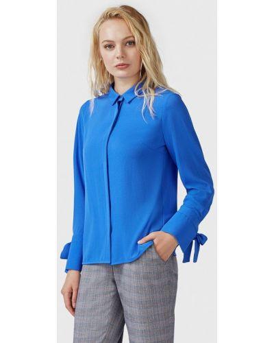 Блузка с длинным рукавом синяя весенний Pompa