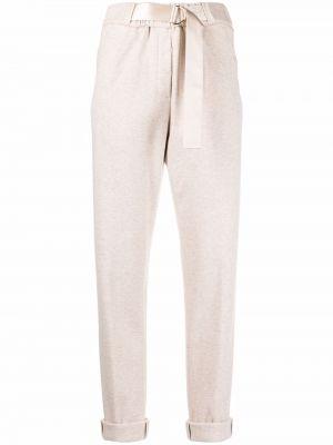 Бежевые хлопковые брюки Peserico