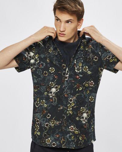 Рубашка с короткими рукавами с карманами хлопковая Medicine