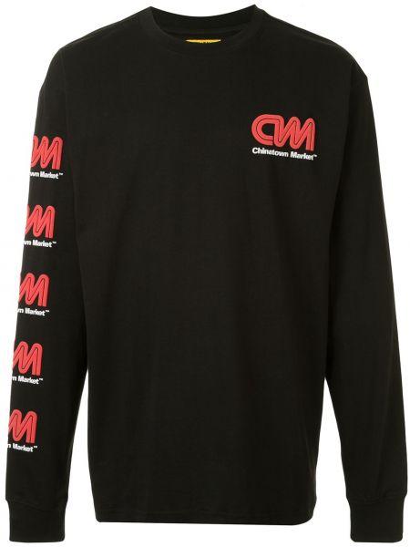 Koszula z długim rękawem z logo długa Chinatown Market