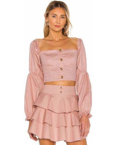 Хлопковая блузка - розовая The Jetset Diaries