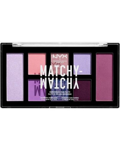 Фиолетовые тени для век Nyx