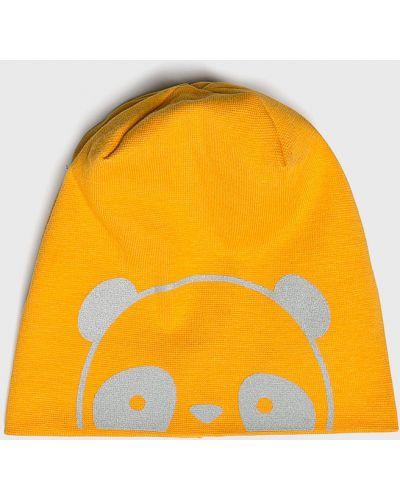 Зимняя шапка облегающий желтый Name It