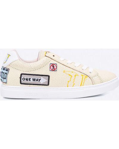Желтые кроссовки Trussardi Jeans