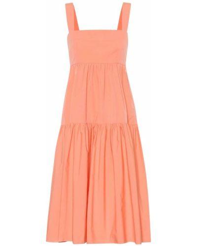 Летнее платье розовое миди Three Graces London