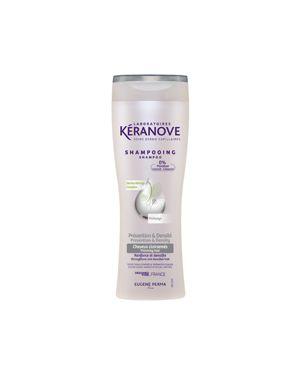 Шампунь для волос от выпадения волос кожаный Keranove