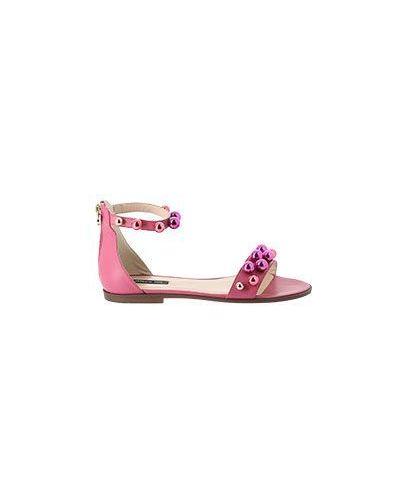 Розовые сандалии Patrizia Pepe