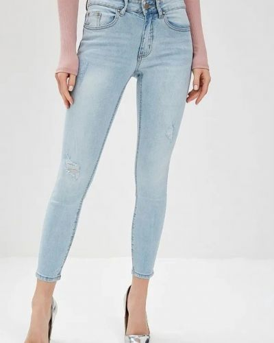 Голубые джинсы Lost Ink.