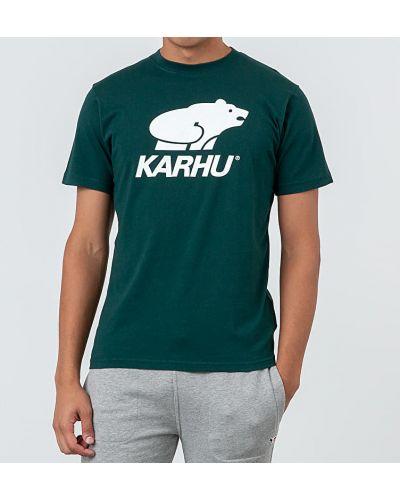 Koszula z logo zielony Karhu