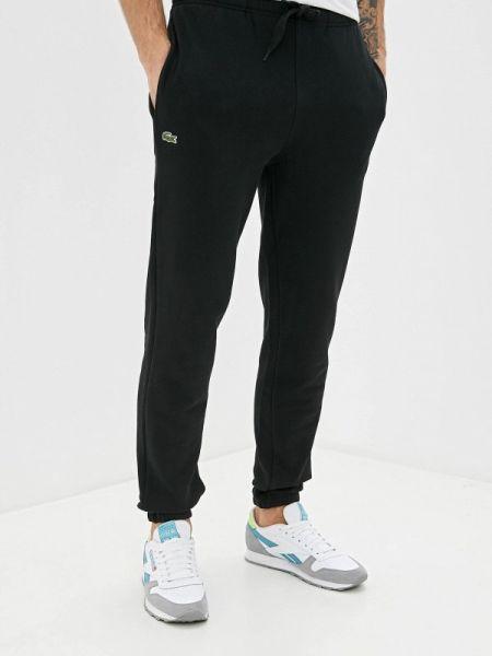Спортивные брюки черные Lacoste