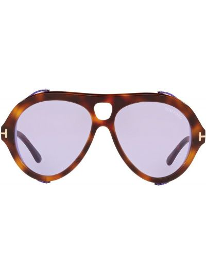 Okulary - fioletowe Tom Ford Eyewear