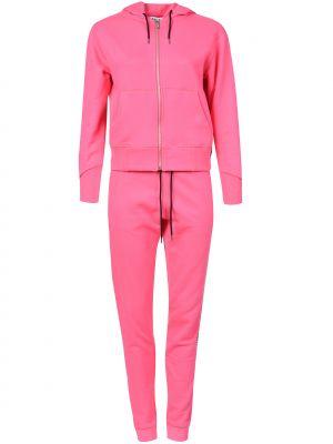 Костюмный розовый спортивный костюм Bikkembergs