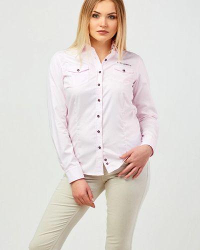 Рубашка с длинным рукавом немецкая розовый Campione