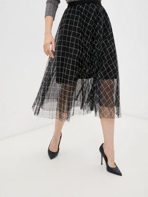 Черная юбка осенняя Elsi