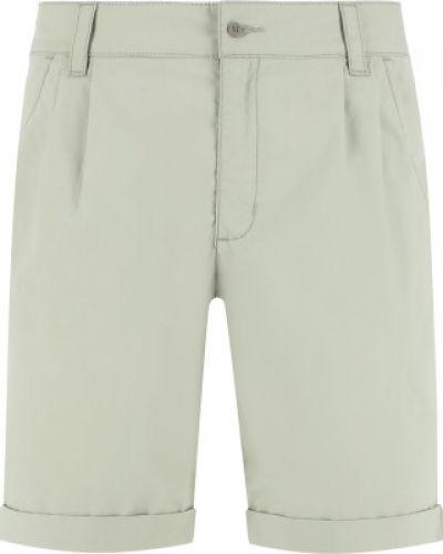 Зеленые свободные хлопковые шорты Outventure
