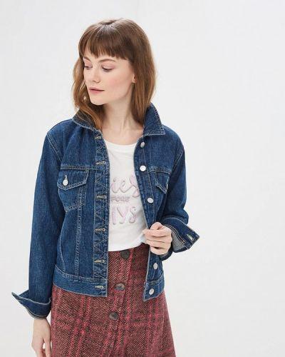 Джинсовая куртка весенняя синий Jacqueline De Yong