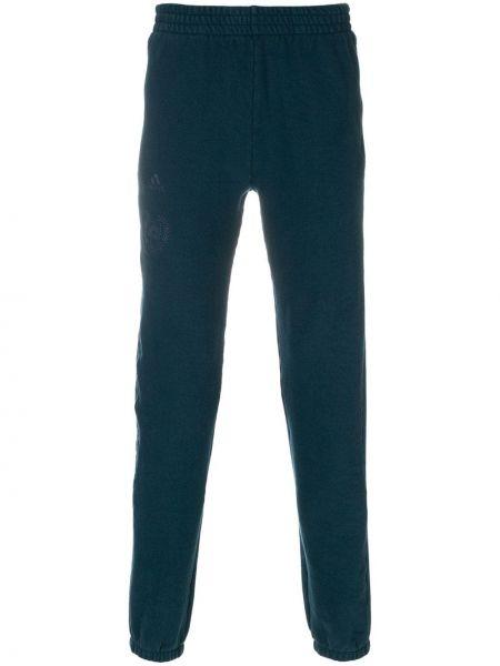 Klasyczne niebieskie spodnie klasyczne bawełniane Yeezy
