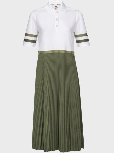 Хлопковое платье - белое Bogner