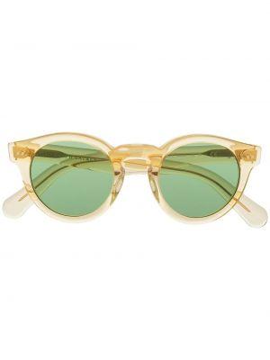 Złote okulary - żółte Polo Ralph Lauren