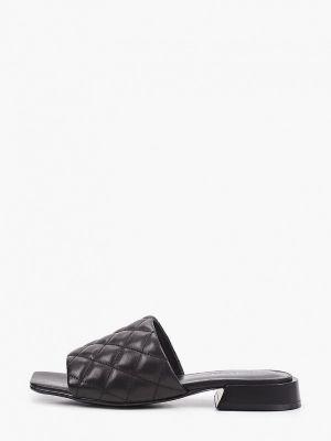 Кожаные черные сабо Tuffoni
