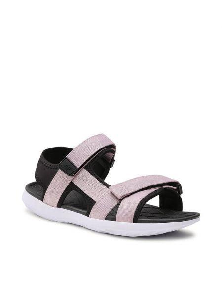 Różowe sandały 4f