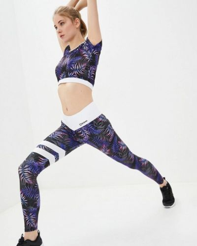 Костюмный фиолетовый спортивный костюм для фитнеса Go Fitness