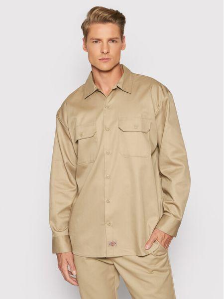 Koszula - brązowa Dickies