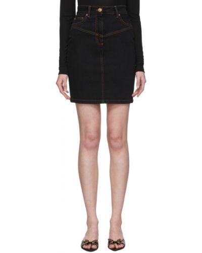Юбка мини джинсовая юбка-шорты Versace