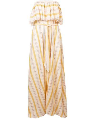 Платье без бретелек платье-поло Lemlem