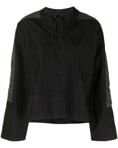 Черная куртка оверсайз со вставками Comme Des Garçons Comme Des Garçons
