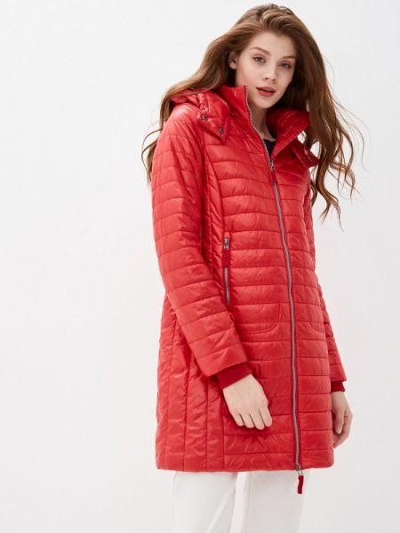 Теплая оранжевая утепленная куртка Baon