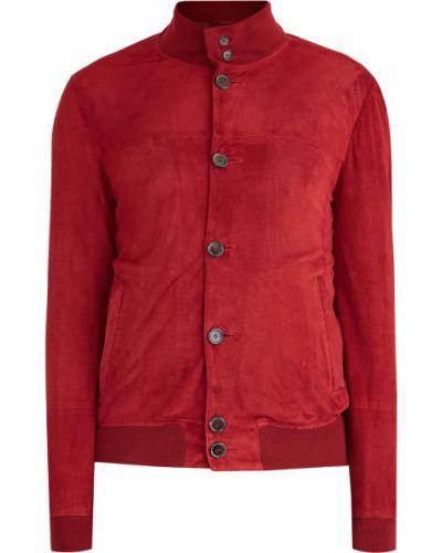 Куртка замшевая с манжетами Enrico Mandelli