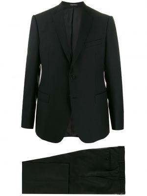 Garnitur kostium wełniany Emporio Armani