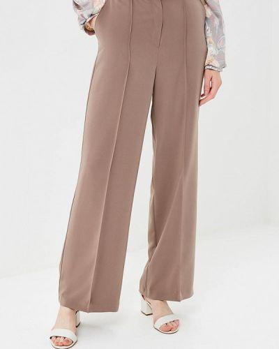 Классические брюки серые бежевый Royal Elegance