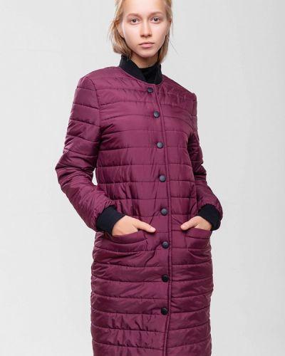 Утепленная куртка - красная Sfn