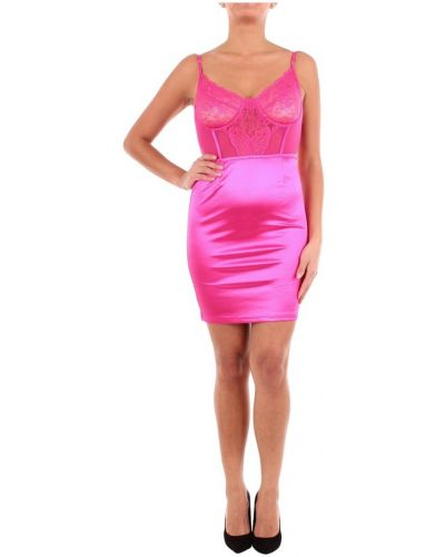 Różowa sukienka mini na co dzień Saint Genies