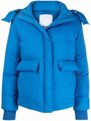 Куртка с капюшоном - синяя Kenzo