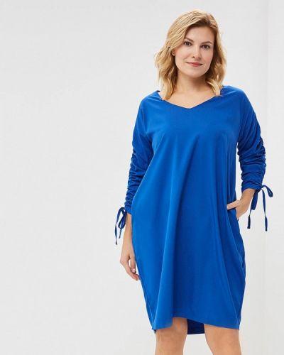 Повседневное платье - синее Wersimi