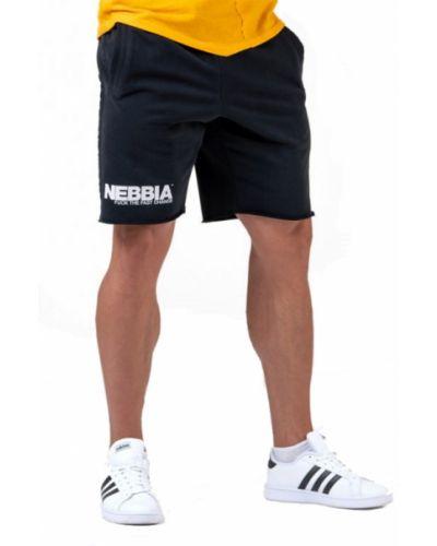 Шорты на шнуровке - черные Nebbia