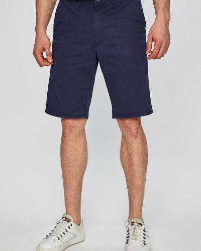 Темно-синие шорты с карманами Wrangler