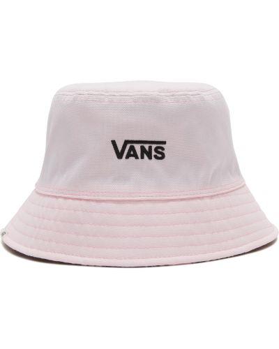 Хлопковая белая панама двусторонняя Vans